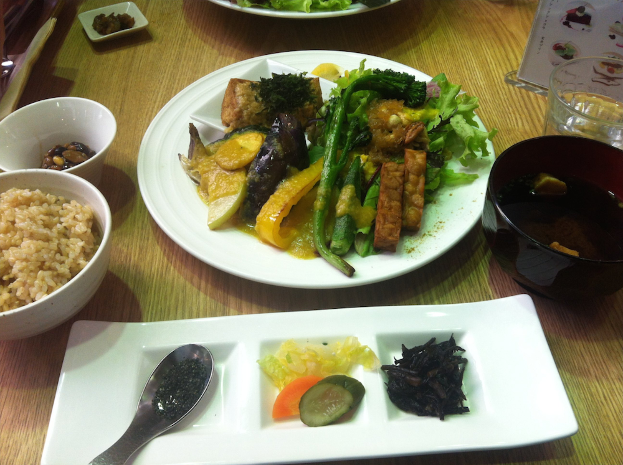 Vegetarian Food In Omotesando