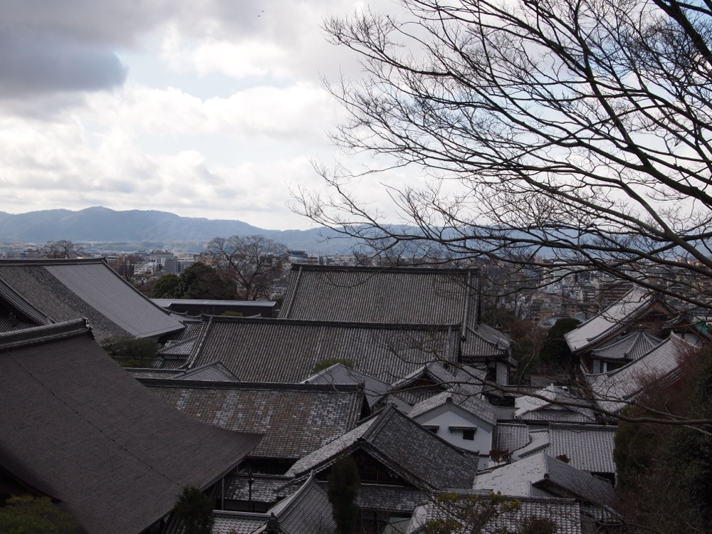 Kyoto roof Tops